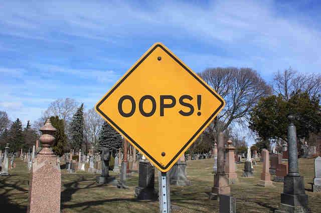 OOPS - Fehler können klein sein